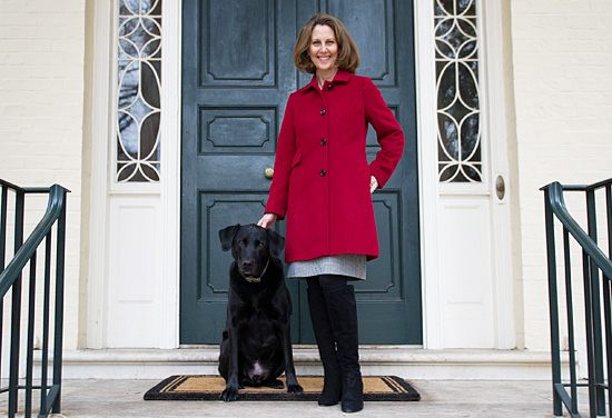 First Lady Northam and First Dog Murphy